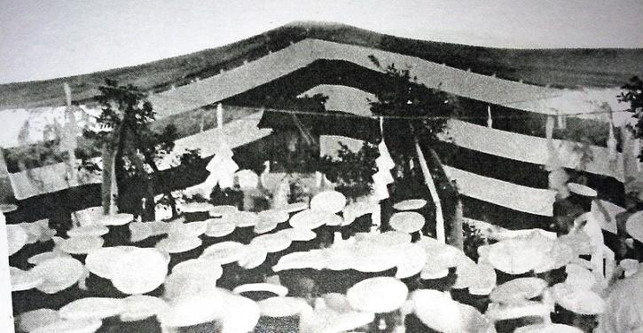 榛名神社(軍艦榛名記念写真帖 昭和10年度より)