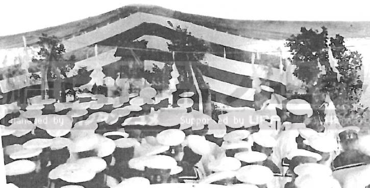軍艦榛名記念写真帖昭和10年度より [撮]1935年祭典時 [作]1915年頃